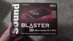 Review of the Creative Sound Blaster 5.1 Surround External Sound Card