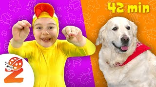 Preschool & Baby Songs with Animals | Essential Kids Songs Collection | Zouzounia TV