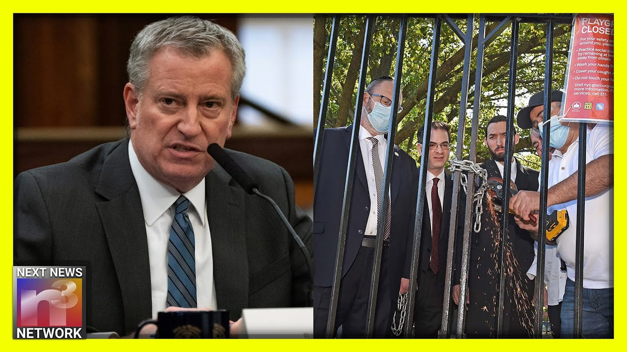 NYC Mayor FORCED to Respond After Locking up Playgrounds Instead of Stopping MASSIVE Protests