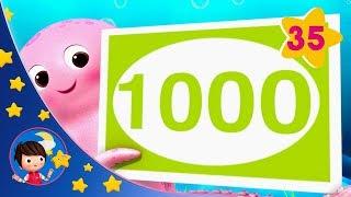 100-1000 Sleeping Baby | Kids songs | Nursery Rhymes | Little Baby Bum