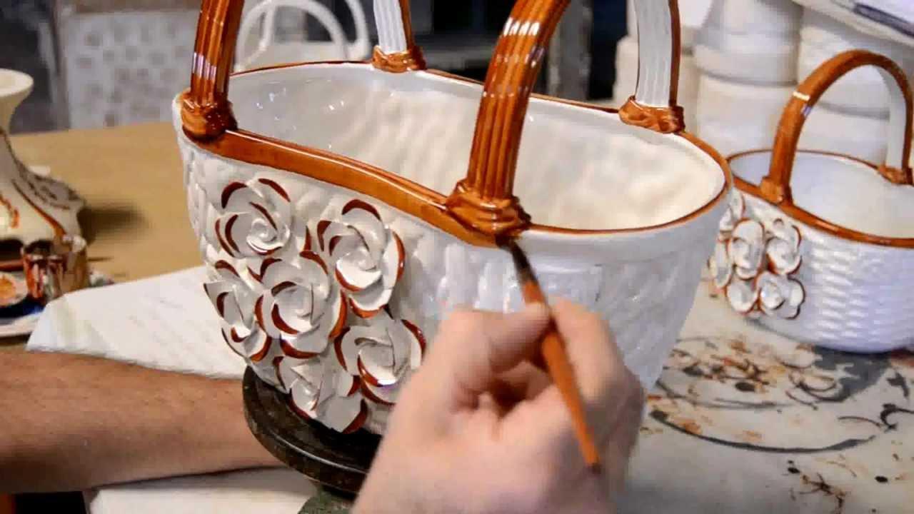 Ceramic Roses Hand Made And Decorated By Ceramics FL Orgia
