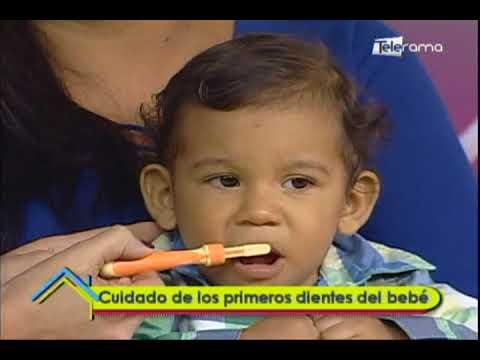 Cuidado de los primeros dientes del bebé