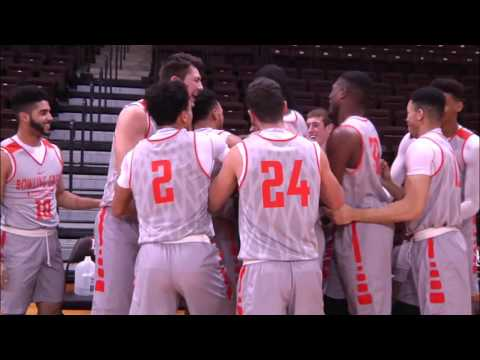 BGSU Men's Basketball - Senior Brandon Busuttil awarded a scholarship (1-6-16)