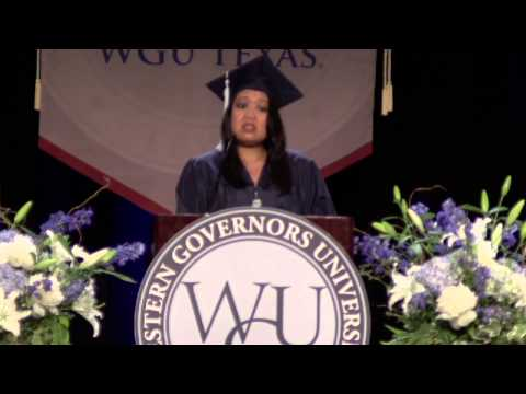 WGU Texas Commencement November 2012: Texas Graduates Celebrate Earning Online Degrees