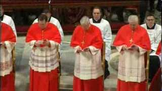 Pope Francis Inducts New Cardinals As Pope Benedict Looks On