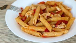 Паста с курицей и сладким перцем | Chicken Pasta with Bell Pepper