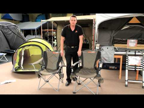 Oztent Chairs - Kokoda Vs Goanna  sc 1 st  YouTube & Oztent Chairs - Kokoda Vs Goanna - YouTube