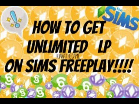 2018 HOW TO GET UNLIMITED LP ON SIMS FREEPLAY!!  NEW!!