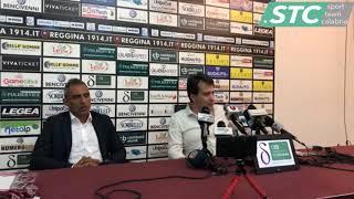 Presentazione del nuovo allenatore della Reggina: mister Domenico Toscano [25/06/2019]