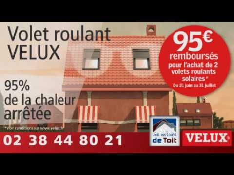 Offre Remboursement Volet Roulant Solaire #Velux - Youtube