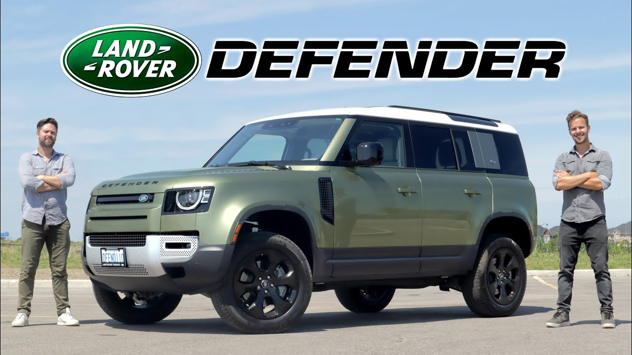 2020 Land Rover Defender Review // A $75,000 Identity Crisis