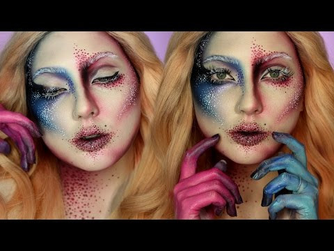 Avant Garde Face Chart Recreation Makeup Tutorial