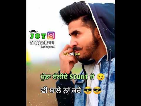 Ankhi Tyson Sidhu Whatsapp Status | Latest Punjabi Songs 2019 | Punjabi Whatsapp Status | ਬੰਬ ਗਾਣੇ