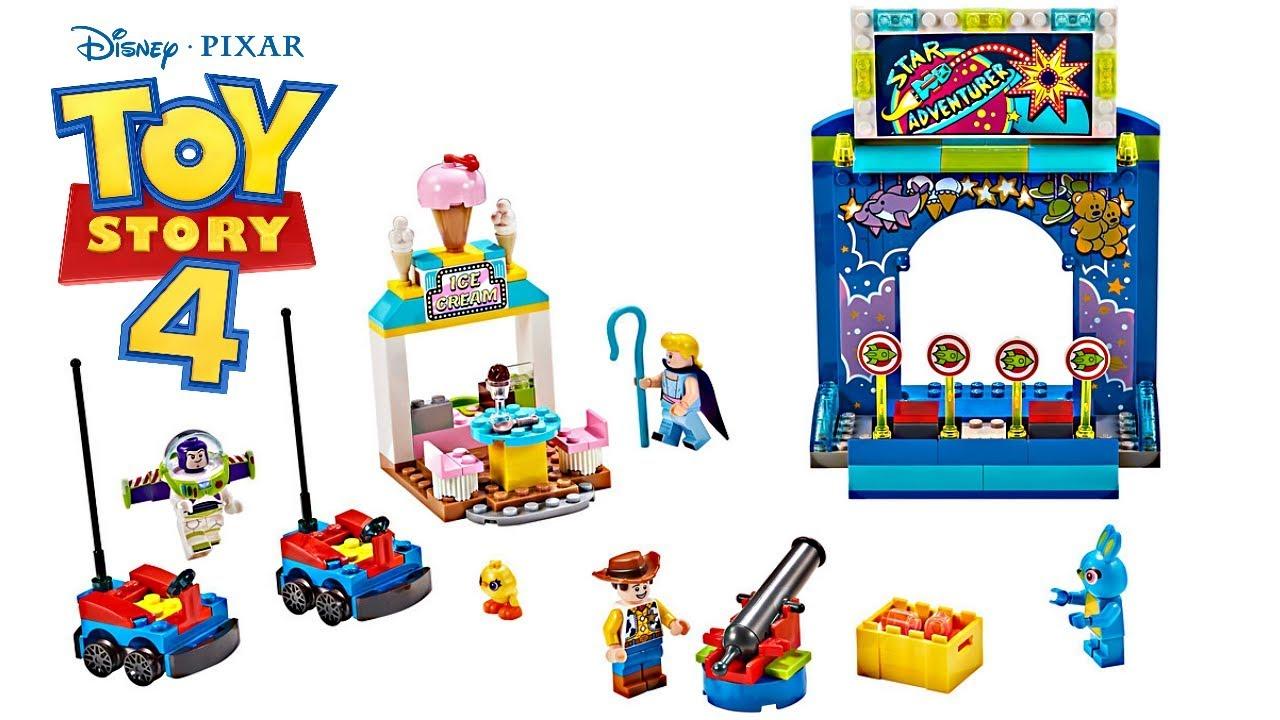Lego Toy Story 4 Buzz Woody S Carnival Mania Youtube