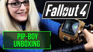 Pip-Boy 3000 Replica Deluxe Bluetooth Edition Unboxing