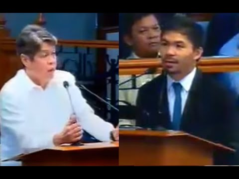 On Death Penalty Kiko Pangilinan Querries On Manny Pacquiao
