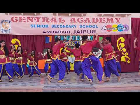 Central Academy, Ambabari, Jaipur, celebrated its 11th Foundation Day on 23.April.2018
