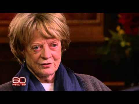 What terrifies Maggie Smith?