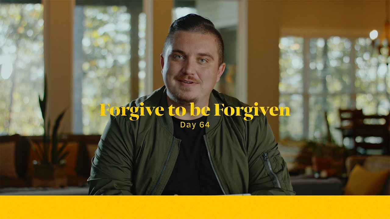 Forgive To Be Forgiven