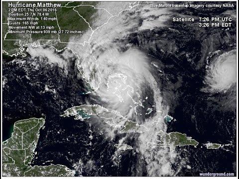 Hurricane Matthew Live Stream - Lake Worth, FL