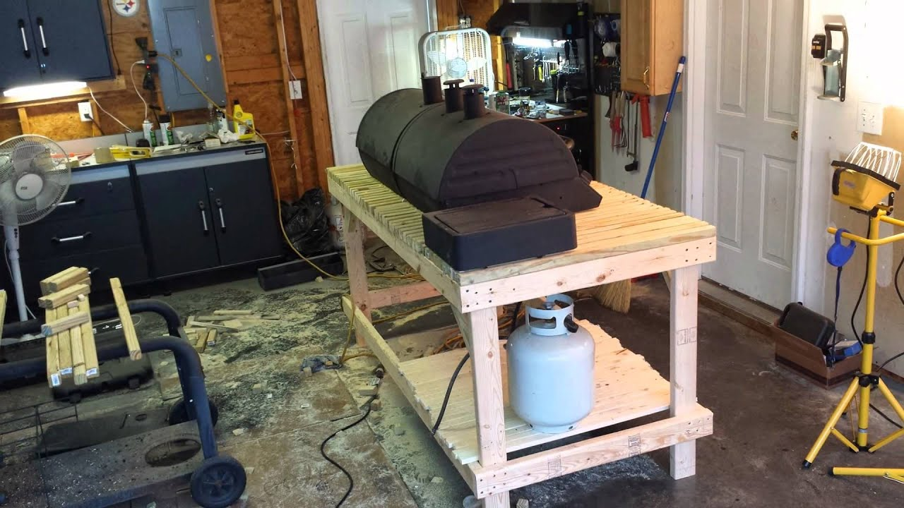 Grill Table Project