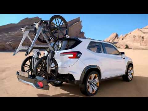 2017 Subaru Viziv Future Concept Fantastis Youtube