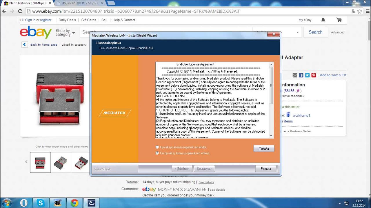 Mediatek Rt2870 Wireless Lan Card скачать драйвер - фото 10