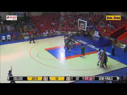 USJR Jaguars vs UV Green Lancers (SEMIFINALS) (10/08/2016)