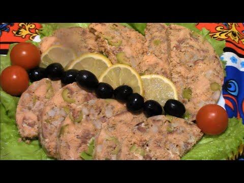 Ветчина из горбуши  ./ Ветчинница рецепт. / Блюда из горбуши . /Горбуша вкусный рецепт .