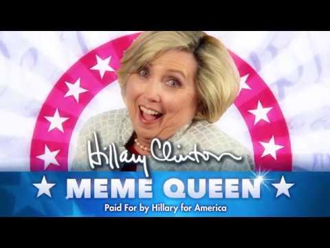 Hillary Clinton Meme Queen 2016 - YouTube