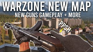 COD Warzone NEW MAP Gameplay! ( PPSH + K31 Sniper )