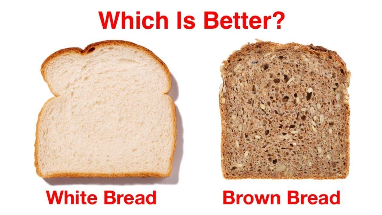 Whole Wheat Bread vs. White Bread images