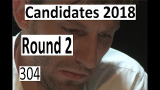 Candidates 2018: Round 2  'If this is not mate, I will quit Chess!'