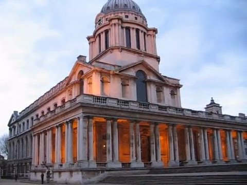 Old Royal Naval College at Greenwich, London