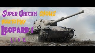 WoT Blitz - Super Unicum shows how to play Leopard 1