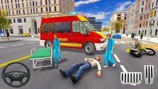 Ambulance Rescue Emergency Driver: City Duty - New Levels Unlocked Android Gameplay #2