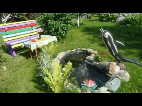 Уютные зоны отдыха на даче или дворе. Фото красивых дворов