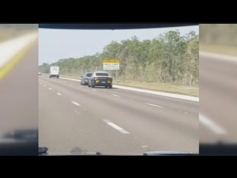 WATCH: State trooper caught forcing drivers off I-75
