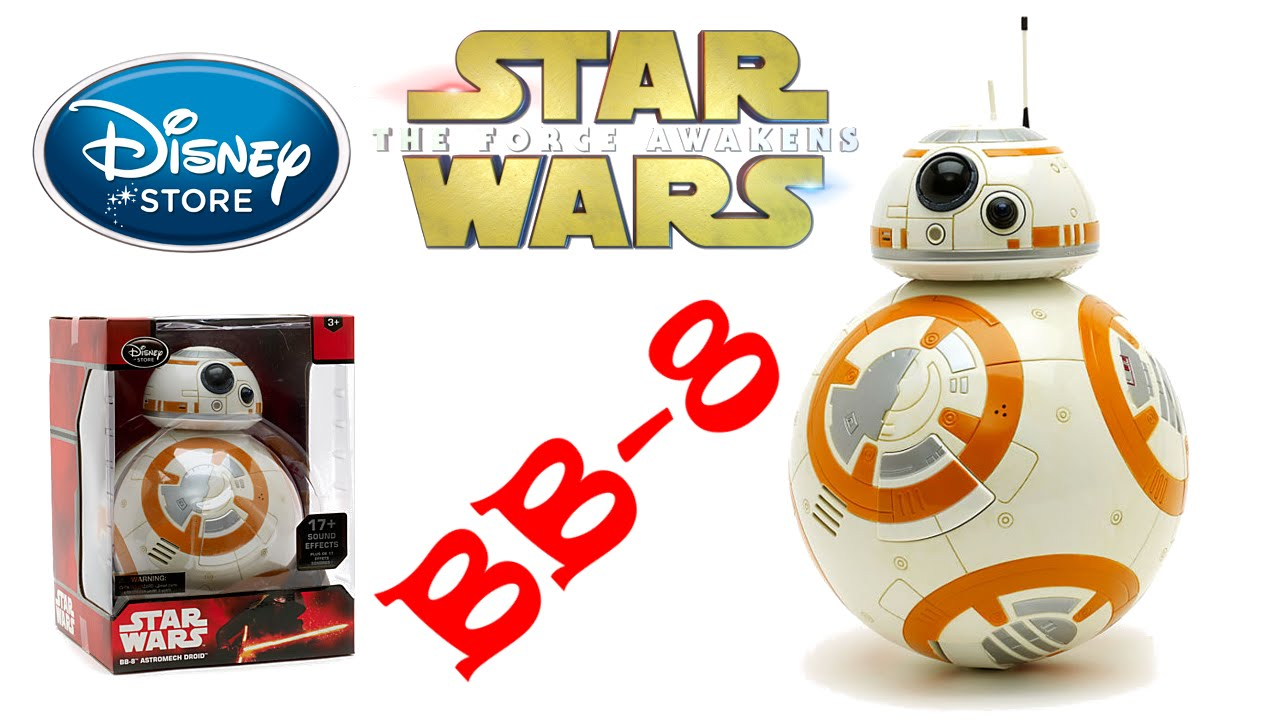 Interactive bb 8 droid disney store exclusive star wars for Bb shop