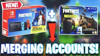 HOW TO PREPARE FOR THE *NEW* MERGING ACCOUNT FEATURE COMING TO Fortnite Battle Royale!