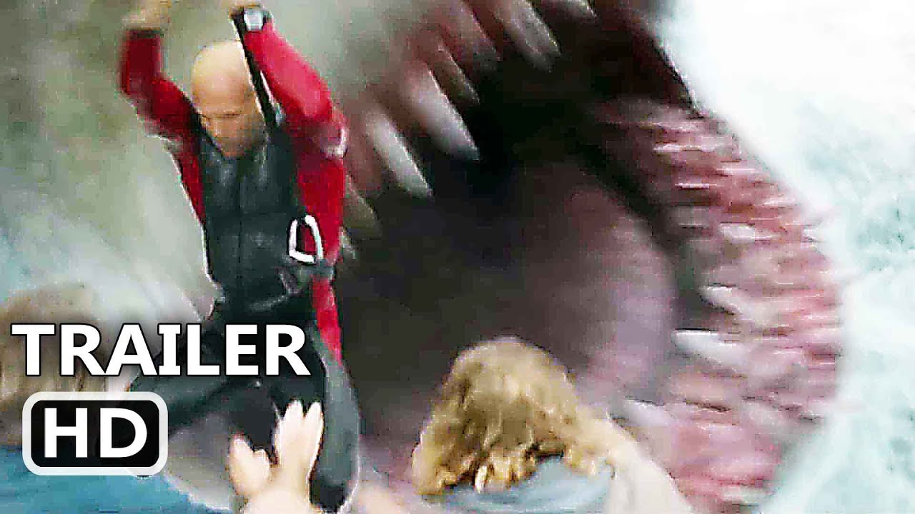 The Meg Trailer Extended 2018 Shark Movie Hd