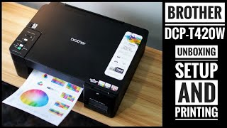 Brother DCP-T420W - Unboxing -…