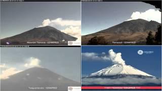 Popocatepetl - 20151219 - 12:00 A 17:59 Hrs