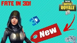 Fortnite Battle Royale | FATE SKIN LEAKED SKIN WITH 3D PREVIEW | AND AXE !!