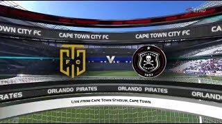 Absa Premiership 2017/18 - Cape Town City vs Orlando Pirates