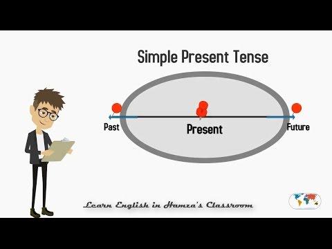 Simple Present Tense - 01  English Grammar Lessons