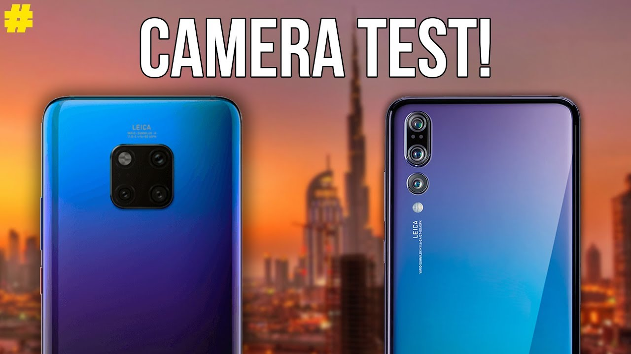 Diagram Huawei Mate 20 Vs P20 Pro Camera Comparison