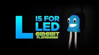 Circuit Playground: L is for LED @adafruit #adafruit