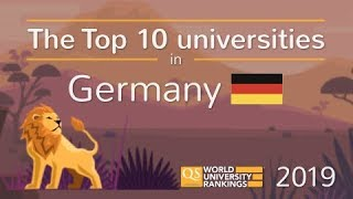 Meet Germany's Top 10 Universities 2019