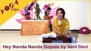 Download Hindi Video Songs - He Nanda Nanda Gopala chanted by Vani Devi